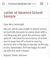 Absence Note Doctors Excuse In Doc Free Templates School Sample ...