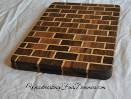 Cutting Board Patterns Mesmerizing How To Make A Brick Pattern Cutting Board Projects To Try