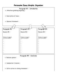 the best persuasive essays ideas persuasive persuasive essay graphic organizer