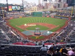 Pittsburgh Pirates Seating Chart Map Seatgeek