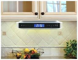 under cabinet radio cd player with light kitchen radio under cabinet photo 8 of 8 best under cabinet radio cd player with light kitchen
