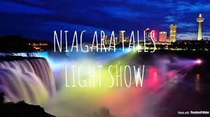 Light And Sound Show Niagara Falls Niagara Falls Light Sound Show Youtube