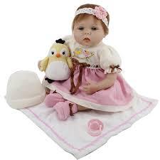 Aliexpress.com : Buy Soft Silicone Reborn Baby Dolls 22'' 55 cm Real ...