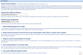 Creat E Mail Email Settings Customer Support Software Documentation 1