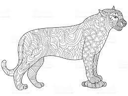 Coloriage Panthere Masque De Panthre Coloriage Pantheres Panthre