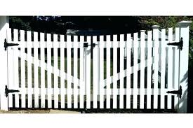 picket fence double gate. Modren Picket Build Picket Fence Gates How To A Gate  Scalloped Double  To Picket Fence Double Gate