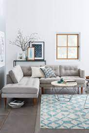 style a room when you have a grey sofa