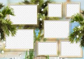 main free photo frames family summer palms my family and friends photo frame collage 7 photos