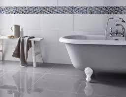 white bathroom floor: white bathroom floor tiles victoria rectified gloss white wall tile bathroom floor tiles k
