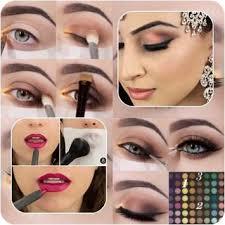 bridal makeup tutorial apk screenshot