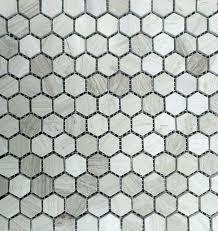 gray mosaic tile stone tile gray wood marble 1 hexagon polished mosaic inside remodel 5 grey