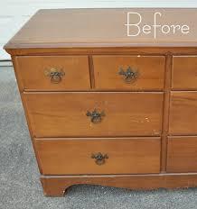 dresser before left centsational girl painting furniture