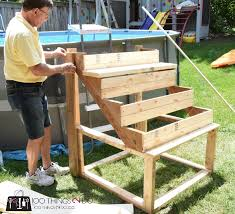 DIY Above ground pool ladder stairs 100 Things 2 Do