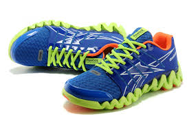 reebok zigtech mens. quite cool men new reebok zigtech shark athletic 3su1e/nhv1-c running shoes blue fluorescent green mens