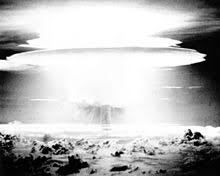 The atomic test blast occurred on march 1, 1954. Castle Bravo Wikipedia