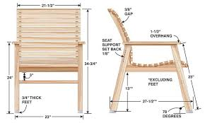patio chair popular woodworking