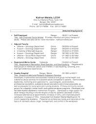 Lcsw Resume Example Lcsw Resume Example Examples Of Resumes 1