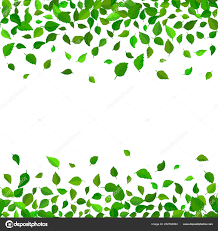 Seamless Vector Floral Pattern Background Green Leaves Backdrop