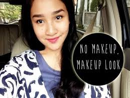no makeup tutorial indonesia simple natural everyday you