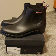 Mens Tommy Hilfiger Chelsea Wellington Boots