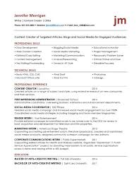 Fancy Social Media Resume Keywords Elaboration Documentation