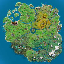 Fortnite Interactive Map Lootlake Info