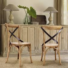 x back dining chairs. Adeco Tan Elm Wood Vintage-Style Dining Chairs (Set Of Two) X Back