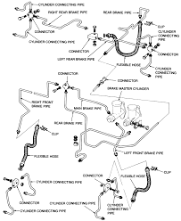 1 exploded view of the early 1972 b1600 hydraulic brake system