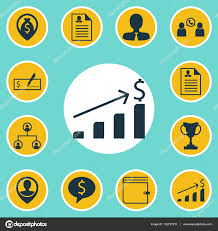 set of hr icons on business deal female application and manager set of hr icons on business deal female application and manager topics editable vector