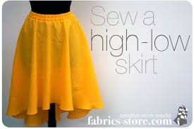 High Low Skirt Pattern Stunning High Low Skirt Pattern