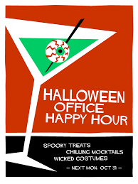 office party flyer halloween office party invite on behance