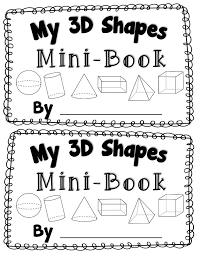 printable 3d shapes worksheets for kindergarten ...