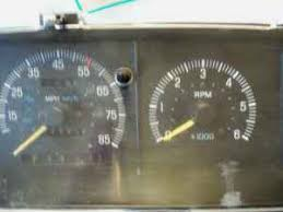 88 f350 dash cluster swap ford truck enthusiasts forums 6cyl cluster tach
