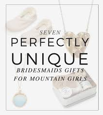 perfectly unique gifts mounn bridesmaids