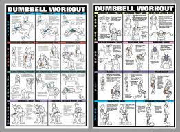 Dumbbell Exercises Chart Printable Pin On Workoutt