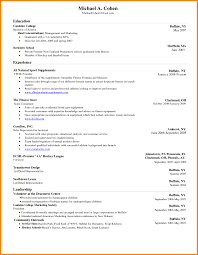 Gallery Of Word Resume Templates 2017