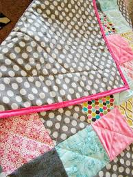 Simple Baby Quilt Tutorial by Fickle Pickle - TONS of baby blanket ... & Simple Baby Quilt Tutorial by Fickle Pickle - TONS of baby blanket  tutorials! Great on Adamdwight.com