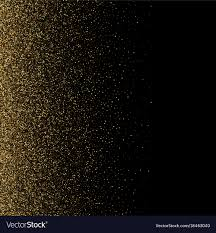 Black Blackground Gold Glitter Texture On A Black Background Golden Vector Image