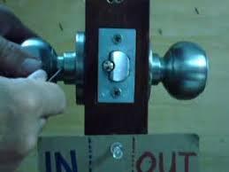 remove door knob. remove door knob