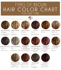 Neutral Hair Color Chart 24 Shades Of Brown Hair Color Chart To Suit Any Complexion