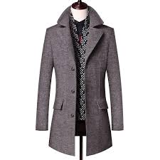 2019 2018 winter men s casual wool coat fashion business long thicken slim woolen overcoat jacket male peacoat brand clothes from hermanw 82 96 dhgate