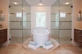 Contemporary Coastal Master Bath Home Design and Remodeling Ideas ...