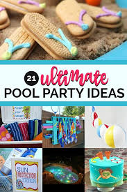 21 ultimate pool party ideas
