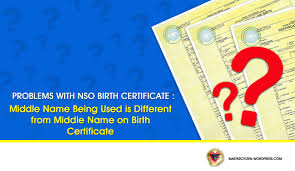 How To Correct Wrong Nso Birth Certificate Detail Errors