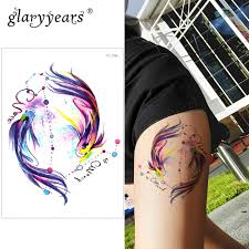 Glaryyears немного большая рука временная татуировка наклейка
