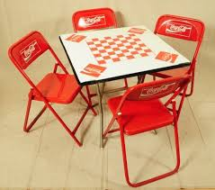 coca cola furniture 375 coca cola game table with 4 chairs