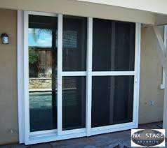 sliding glass door security glass