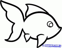 coloring pages easy fish to draw how a step by from easy fish to draw