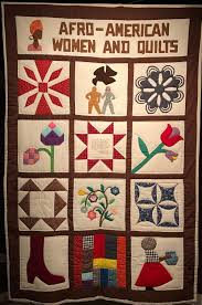 At the DuSable Museum of African American History — Girls Like You ... & This is the one quilt in the exhibit that Cuesta made herself. Quilting has  a Adamdwight.com