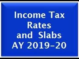 Income Tax Rate Chart For Ay 2019 20 Income Tax Rates And Slabs In India For Ay 2019 20